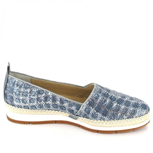 Paul Green Slipper , Farbe: metallic/blau