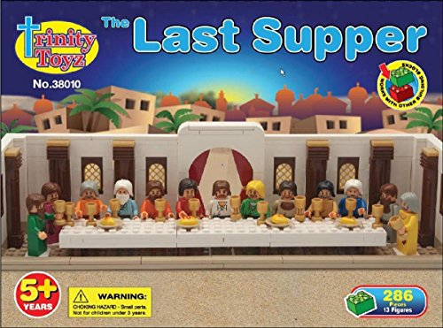 Trinity Toyz The Last Supper Building Blocks Set (38010) 515VP8vfl4L