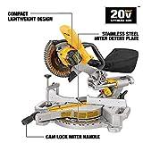 DEWALT 20V MAX 7-1/4-Inch Miter Saw, Tool Only
