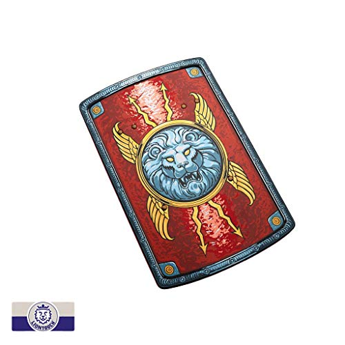 Liontouch 30.001 Roman Pretend Play Toy Shield, Red