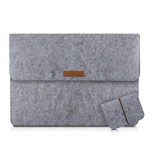 kwmobile Laptoptasche Filz Sleeve für 17