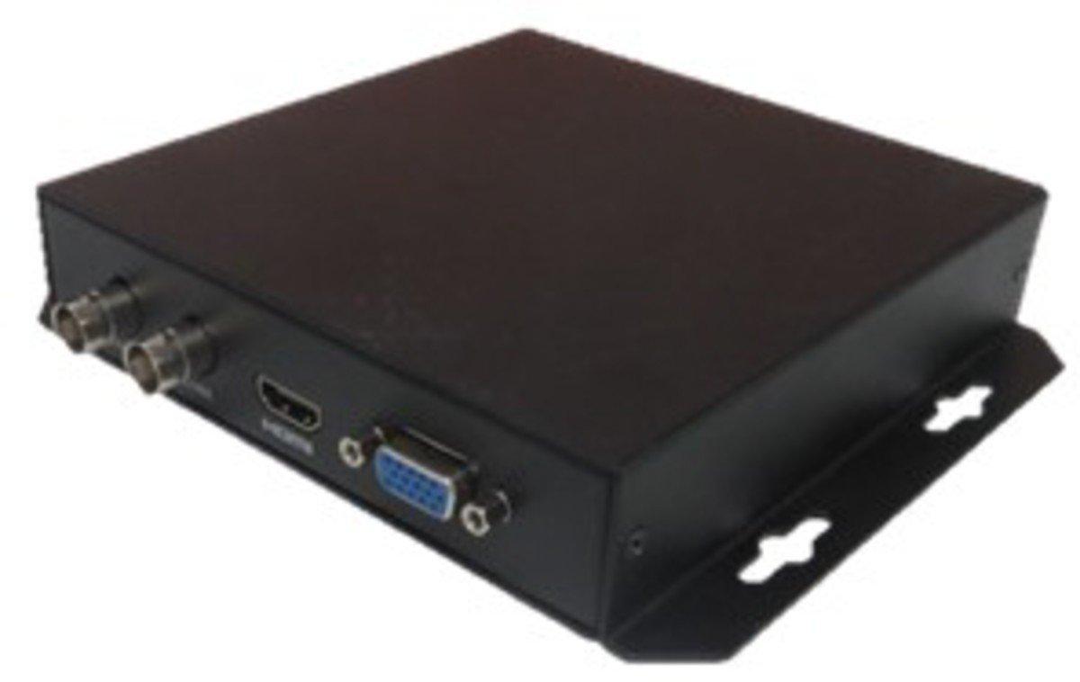 erm/öglicht das Verbinden einer HDCVI kompatiblen Kamera mit einem HDMI-Monitor HDCVI Lupus Electronics HDTV auf HDMI Konverter
