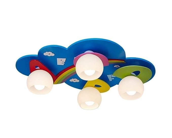 Plafoniere Per Camere Ragazzi : Plafoniera paralume lampadari per camerette ragazzi