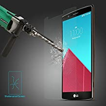 LG G4 Tempered Glass Screen Protector, 2.5D Tempered Glass Ultra Thin 0.26mm for LG G4 LGG4 2015 (1 Pack)