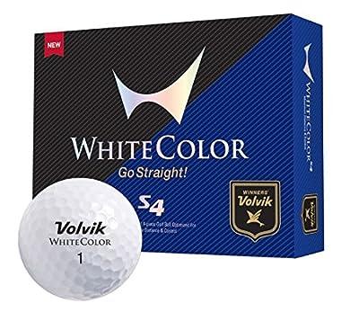 Volvik S4 Golf Balls - White