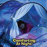 Meigirlxy Wonderland Bed Dream Tents for children, Magical Tent Kids Twin Bed Pop Up