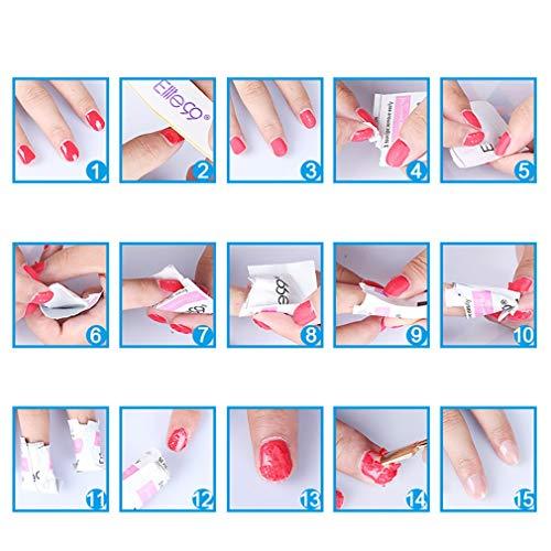 Elite99 Esmaltes Semipermanentes de Uñas en Gel UV LED, 6pcs Kit de Esmaltes de Uñas en Gel Soak Off 002