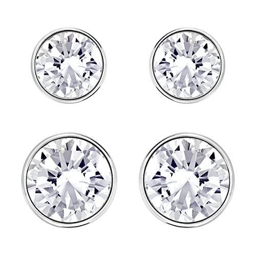 Swarovski Harley Medium Earrings Set (Earring Swarovski Bezel)