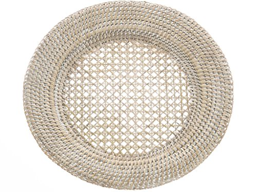 KOUBOO Round Rattan Charger Plate product image