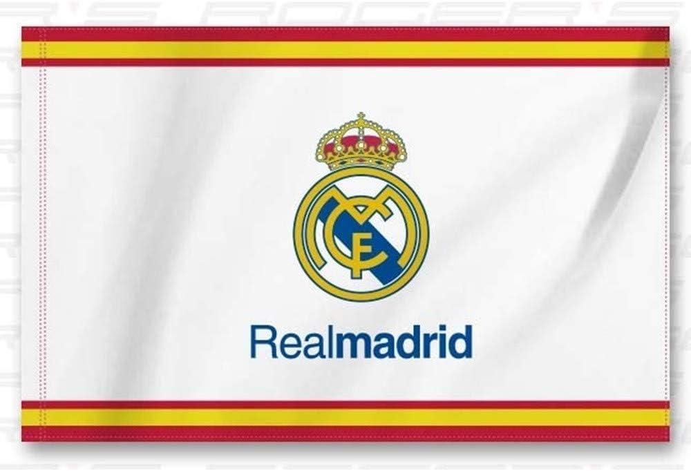BANDERA REAL MADRID ESPAÑA 150x100 CM: Amazon.es: Juguetes y juegos