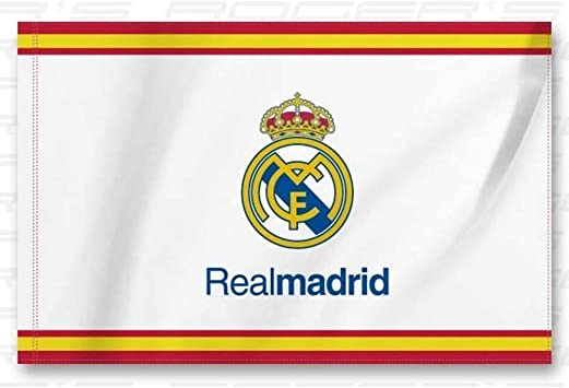 BANDERA REAL MADRID ESPAÑA 150x100 CM: Amazon.es ...