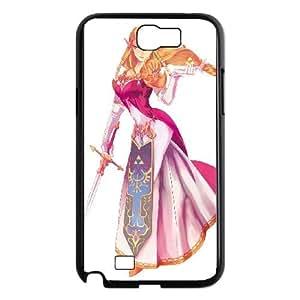 Samsung Galaxy N2 7100 Cell Phone Case Black_Super Smash Bros Princess Zelda_001 Puvjd