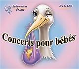 Concerts pour bébés - La boîte-cadeau de luxe (Coffret de 4-DC)