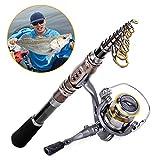Fishing Rod Reel Combos , Highsound Fishing Pole Gear Kit (6'11'' (2.1m) Rod & Reel Only) Highsound Rods And Reels
