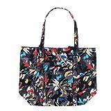 Vera Bradley Women's Solid Color Vera Tote Bag (Fuchsia)