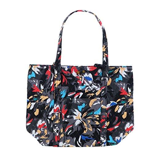 Vera Bradley Women's Solid Color Vera Tote Bag (Fuchsia) by Vera Bradley