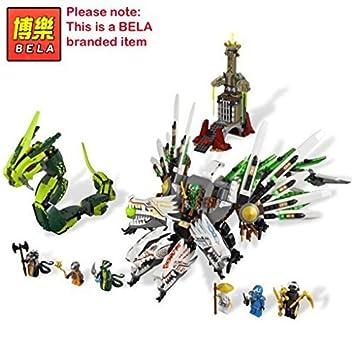BELA con la marca / Grande ninja 4 cabezas dragón vs lucha ...