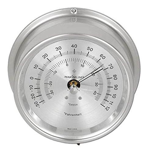 Nickel Case Mini Max Wireless Thermometer