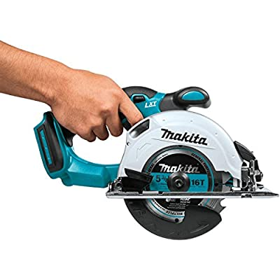 Makita XSS03Z 18V LXT Lithium-Ion Cordless 5-3/8-Inch Circular Trim Saw (Tool Only, No Battery) from Makita
