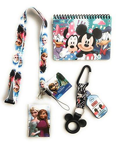 Disney Trip Frozen Bundle- Autograph Book, Lanyard and Bottle Holder Disney Cruise Trip (Disney World Halloween Tickets)