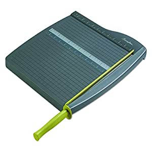 """Swingline Paper Trimmer / Cutter, Guillotine, 12"""" Cut Length, 10 Sheet Capacity, ClassicCut Lite (9312)"""