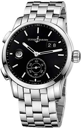 Ulysse Nardin Dual Time Manufacture Men's Watch - Nardin 92 Watches Ulysse