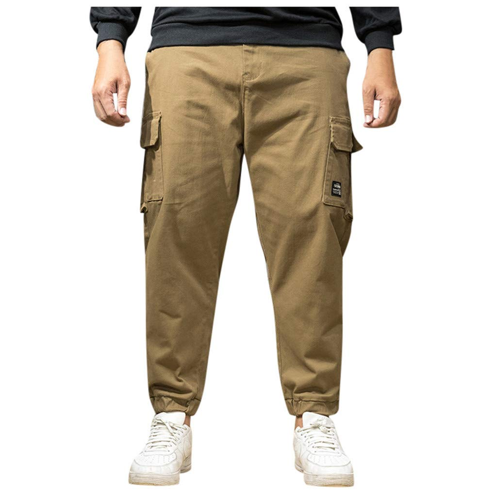 Lefthigh Fashion Pocket Jeans, Summer Autumn Pants Casual Sports Riding Hiking Trousers by Lefthigh