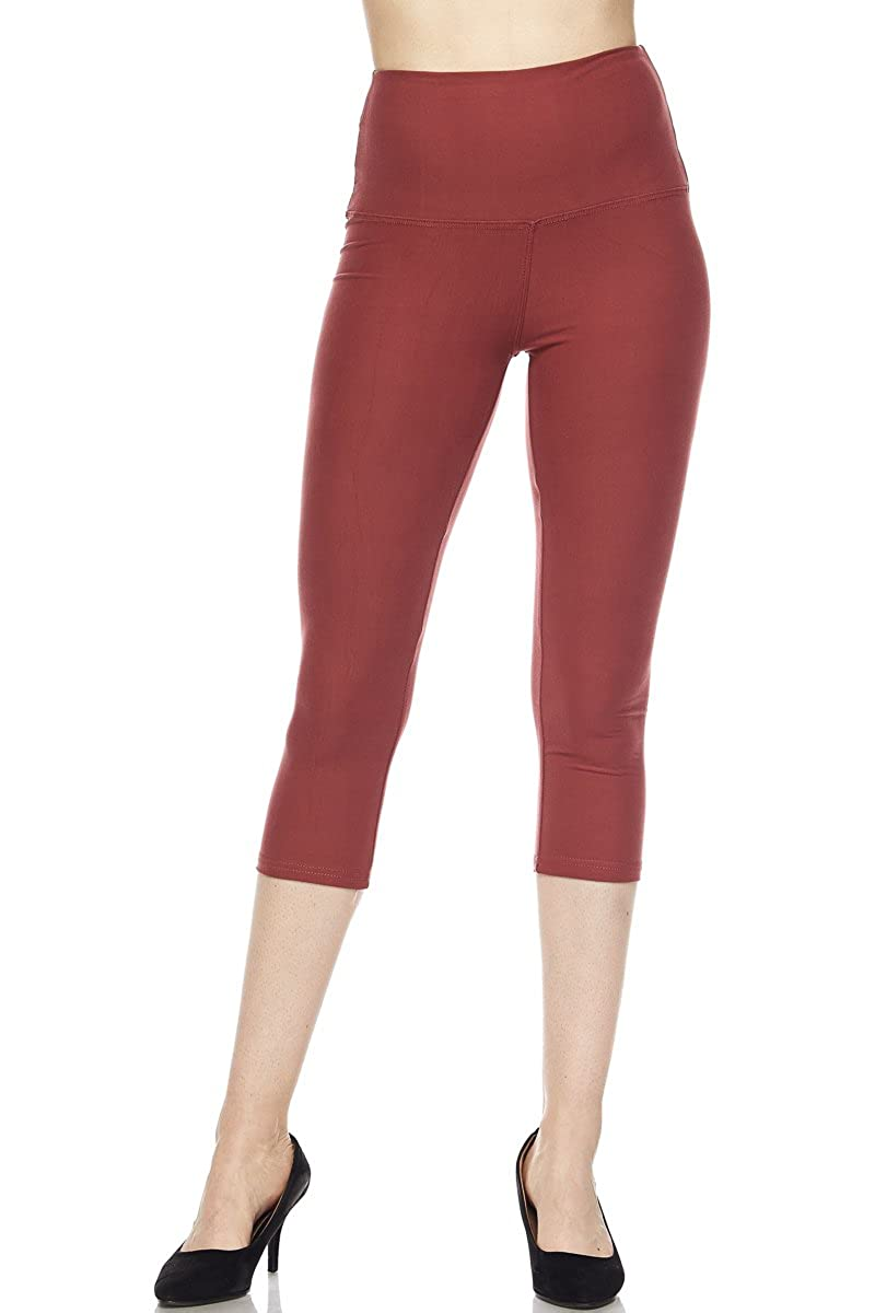 New Mix By Muskoka Seamless Capri 27' Leggings.