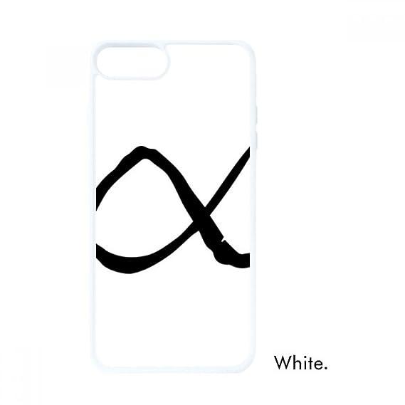Amazon Greek Alphabet Alpha Black Silhouette For Iphone 78