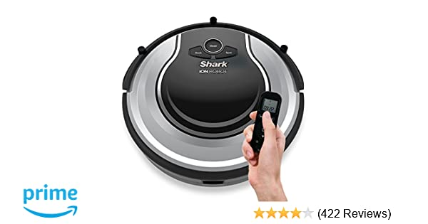 Amazon.com: Shark ION Robot Dual-Action Robot Vacuum Cleaner with 1-Hour Plus of Cleaning Time, Smart Sensor Navigation and Remote Control (RV720): Home & ...