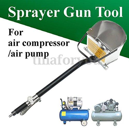New 4 Jet Cement Air Tools Mortar sprayer Plaster Hopper Gun Cement sprayer gun Air Stucco Cement Plaster Hopper 30