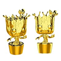 Funko Figure Pop Marvel Studios 10 Groot, Gold Chrome