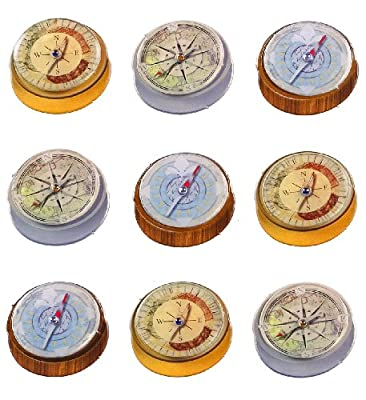 Jolee's Boutique Dimensional Stickers, Compass Repeats