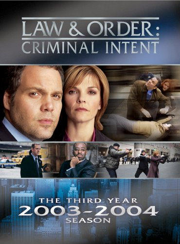 Law & Order Criminal Intent - The Third Year by D'ONOFRIO,VINCENT