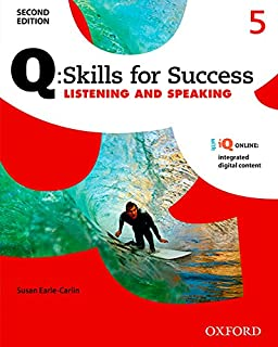 Amazon q skills for success listening and speaking 2e level 4 q skills for success listening and speaking 2e level 5 student book fandeluxe Gallery