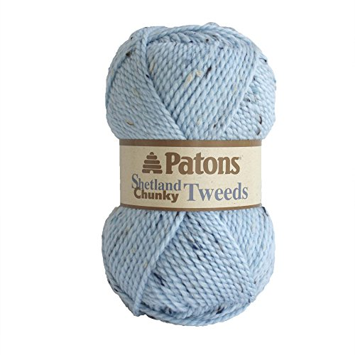 Patons Shetland Chunky Yarn, Sea Ice Tweed