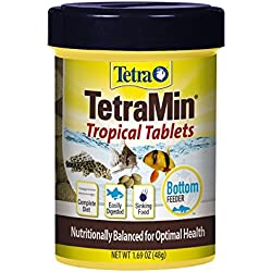 TetraMin Complete Diet Tropical Tablets, 1.69-Ounce, 85-Ml