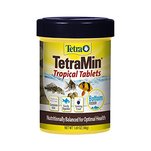 TetraMin Complete Diet Tropical Tablets, 1.69-Ounce, 85-Ml (Loach Aquarium Clown)