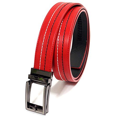 付録タンザニア差別化するゴルフ メンズ ベルト アイタッチ ステッチ 無段階調整 ジャストフィット コンフォートクリック Perfect Fitting Stitch Belt