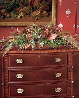 Tuscan Buffet Silk Centerpiece by Petals Silkflowers