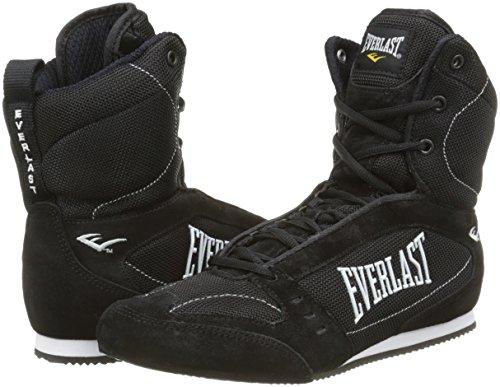 Everlast 8003BK45 - Bota alta de boxeo unisex, color negro, talla 45: Amazon.es: Deportes y aire libre