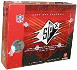 2007 Upper Deck SPX Football Cards Unopened Hobby box - Adrian Peterson Rookie Year