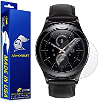 ArmorSuit MilitaryShield - Samsung Gear S2 Smartwatch Classic Screen Protector [2-Pack] Anti-Bubble and Extream Clarity HD Shield with Lifetime Replacements