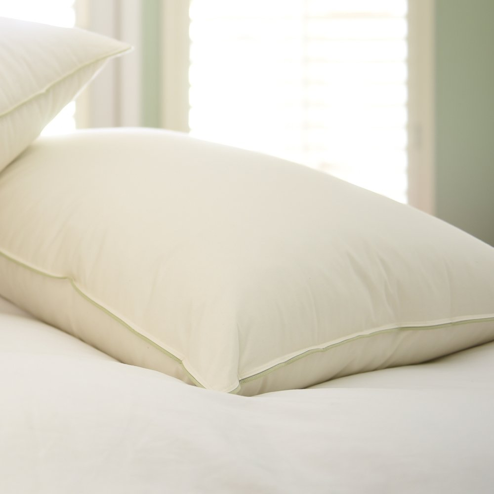 Natural Nights Classic Feather Pillow Queen Size - Extra Firm (39oz)