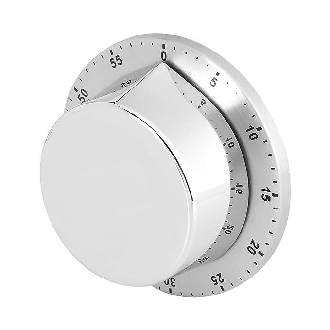 Compra Qtiwe Temporizador, Tiempo Cuchillo de Cocina Reloj Temporizador Temporizador Count Down Temporizador Despertador con Magnético rückseit para el ...