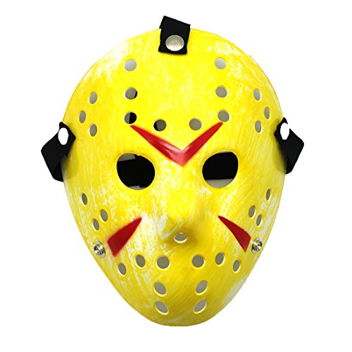 Shinybaby Cosplay Costume Halloween Party Cool Mask for Men (Jason Scary)