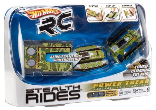 Hot Wheels R C Stealth Rides Power Tread Vehicle Camo