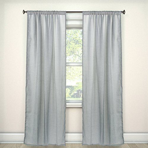 Umbra Set of 2 Curtain Panels 50 x 96 Window Drapes Pair For Living Room, Bedroom