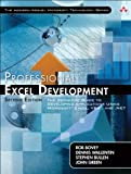 Professional Excel Development: The Definitive Guide to Developing Applications Using Microsoft Excel, VBA, and .NET (2nd Edition)