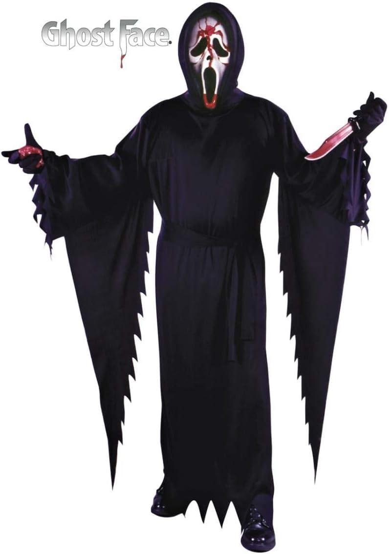 Horror-Shop Scream Disfraz con máscara sangrienta: Amazon.es ...